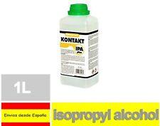ALCOHOL ISOPROPILICO IPA ISOPROPANOL 1Litro Desinfectante Limpieza telefono Q16