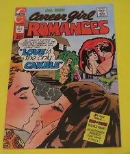 1973 CAREER GIRL ROMANCES #77 CHARLTON COMIC  HIGH GRADE COPY LOVE ROMANCE COMIC