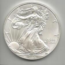E09) U.S.A. 2012 AMERICAN EAGLE $ 1OZ.999 FINE SILVER - UNC