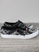VANS Authentic Sneakers Off The Wall Women's 5.5 Men's 7 Skater Shoes Black