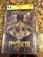 X-MEN BLACK: MAGNETO #1 CGC SS 9.8 - CHRIS CLAREMONT - EMMA FROST
