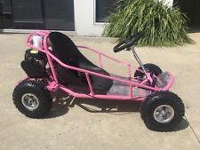 Brand New 49cc Mini Go Kart 4 Wheeler Kids 2 Stroke Buggy Quad Atv Dirt Bik Pink