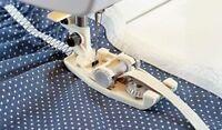 Viking Husqvarna Sewing Machine Genuine Elastic Guide Foot 4128153-45 Fit 1-7***