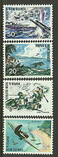 PAPUA NEW GUINEA 1967 25th ANNIVERSARY OF PACIFIC WAR 4v MINT