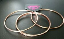 Paparazzi Jewelry Bangle Bracelets Set of Three Copper Bangle Bracelets NWT