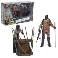 WALKING DEAD:DELUXE BOX MORGAN with IMPALED WALKER Action Figure MACFARLANE TOYS