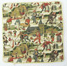 Village Dance Tapestry Cushion Cover Signare - Set of 2 Matching Covers