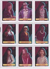 2019 Stranger Things Season 2, Character Sticker Chase Card Set CS1-20