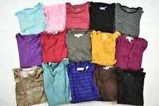 Wholesale Bulk Lot 15 Womens Small Long Sleeve Tops Blouses Shirts Fall Winter