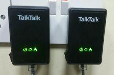 More details for 2 x d-link talktalk dhp-300av powerline adapters  bt sky, virgin, ee + ethernet