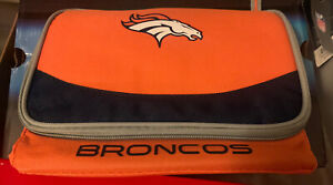 DENVER BRONCOS BLIZZARD 6 CAN COOLER by Mavrik NEW w/Tags or Insulated Luch Bag