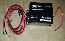 NEW Kenwood KLF-2 OEM 2 Two Way Radio Line Noise Filter