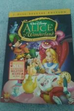 Alice In Wonderland Two-Disc Special Un-Anniversary Edition On DVD Sealed