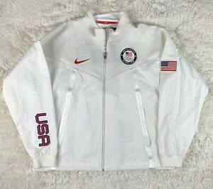 Nike Team USA Windrunner Men's Medal Stand Jacket Olympic CK4552-100 New SZ 2XL