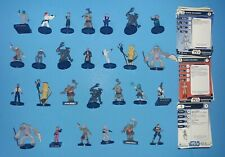 """Wizards of the Coast Star Wars Miniature Lot of 2 Fringe X-1 Viper Droid 4/"""" RPG"""