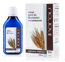 100% Pure Natural Oil Wheat Germ Ikarov 55ml Face Moisturising Anti Aging Vit E