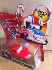 "DISNEY CARS TOON DIECAST - ""Big Fan"" - Combined Postage"
