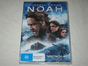 NOAH - Russell Crowe - Brand New & Sealed - Region 4 - DVD