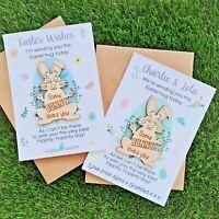Easter Bunny Lockdown Pocket Hugs ~ Hug Token ~ Personalised ~ Non Personalised