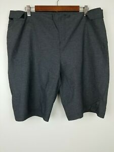 Specialized Men's Size XXL Cycle Shorts Side Zip Pocket Adjustable Waist Gray