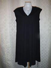 Sleeveless lined Dress SM Simply Vera Vera Wang color Black 100% polyester  NWT