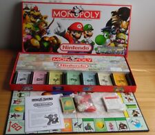 Monopoly Nintendo Collector's Edition Board Game w/ Pewter Tokens 2006~Complete