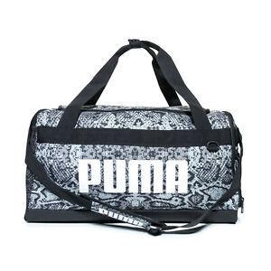 Puma Small Challenger Workout Training Duffel Duffle Holdall Bag Snake Print