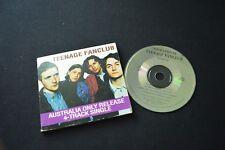 TEENAGE FANCLUB ULTRA RARE AUSTRALIAN TOUR SAMPLER GATEFOLD CD!