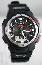 Casio SGW-500H-1B Compass Thermometer Watch Moon Sunset Sunrise Digital Data New