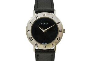 Vintage Gucci 3000L Quartz Stainless Steel Ladies Watch 2003