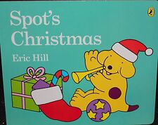 SPOT'S CHRISTMAS BY ERIC HILL ~ BOARD BOOK ~ NEW