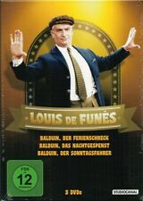 DVD LOUIS DE FUNES Balduin Collection (3 DVDs) Nachtgespenst, Ferienschreck +NEU