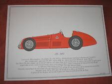 ALFA ROMEO 159 F1 1950 PORTFOLIO SCALA 1/18 SOFAR 1963 FRANCOIS DALLEGRET