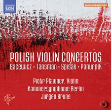 Bacewicz / Tansman / - Polish Violin Concertos [New CD]
