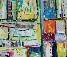 Expressionist Abstract Beyond the Path  by Ehren Snyder