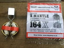 TILLEY MANTLE AND TORCH SET 164X plus 151 CORD TIED MANTLE CLIP TORCH (BOX 1)