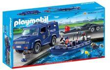 PLAYMOBIL 9396 Bundespolizei - Truck mit Schnellboot .
