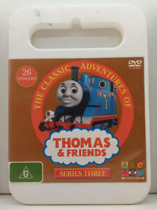DVD-The Classic Adventures Of Thomas&Friends Series Three/Season 3-FREE POST #P5