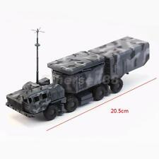 1/72 Army Tank Model Blue Radar Military Vehicle Kids Plastic Truck Toy Gift