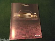 MINT CHEVROLET 1974 CHEVY IMPALA CAPRICE BELAIR SALES BROCHURE NEW (BOX 384)