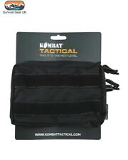 ARMY KOMBAT MOLLE UTILITY POUCH BLACK MILITARY AIRSOFT PAINTBALL