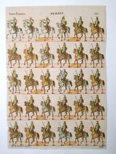 Gravure sur bois - Imagerie Populaire - Dragons - Pellerin - Épinal