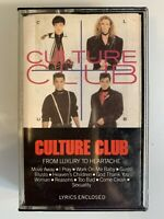 Culture Club From Luxury to Heartache (Cassette)