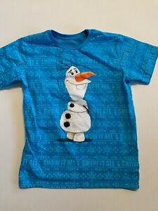 Disney Olaf Snow it All Frozen Short Sleeve T-Shirt Youth XL (14)