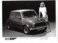 Mini 1100 Special Limited Edition Original b/w Press Photograph No. 296277