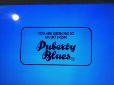 Puberty Blues, Cathy Lette, Aussie Classic  Cinema Advertising Slides