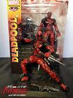 "Marvel Select X-men Deadpool Wade Wilson 7"" Statue Action Figure Figurine IN BOX"