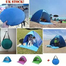 INFANT 50+ UV / UPF Pop Up Beach Garden Tent Beach Shade Sun Shelter Protection