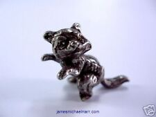 Racoon 3D Pewter Animal
