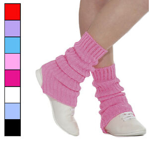 NEW Knitted Roch Valley Dance/ Ballet Leg-warmers Pink, Red, Blue, Lilac & MORE!